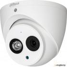 DAHUA DH-HAC-HDW1100EMP-A-0280B-S3 (1Mp, HDCVI, уличная) Купольная антивандальная мультиформатная (4 в 1) видеокамера 720Р; 1/3 1Mп Sony Exmor CMOS; фикс. объектив: 2,8мм; дальность ИК: 50м; Поддержка: HDCVI, HDTVI, AHD, PAL960H; чувствительность: 0.05л