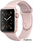 APPLE Watch Series 2 42mm Rose Gold Aluminium Case with Pink Sand Sport Band MQ142RU/A