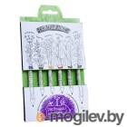 Растущий карандаш Салатный микс цветные 6шт RK-02-06-02