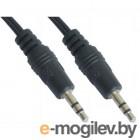mini Jack 3.5mm (M) -> mini Jack 3.5mm (M),  5.0m, 5bites (AC35J-050M)