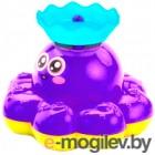 Игрушка для ванны Bradex Фонтан-осьминожка DE 0249 фиолетовый