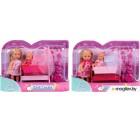 Кукла с аксессуарами Simba Эви с кроваткой 105736242