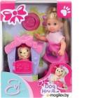 Кукла с аксессуарами Simba Эви с песиком и домиком 105735867