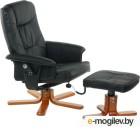 Массажное кресло Calviano 92 с пуфом черный