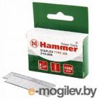 Гвозди для степлера Хаммер Флекс 215-006  14мм, сечение 1,2мм, T-образные (тип 300), 1000шт,