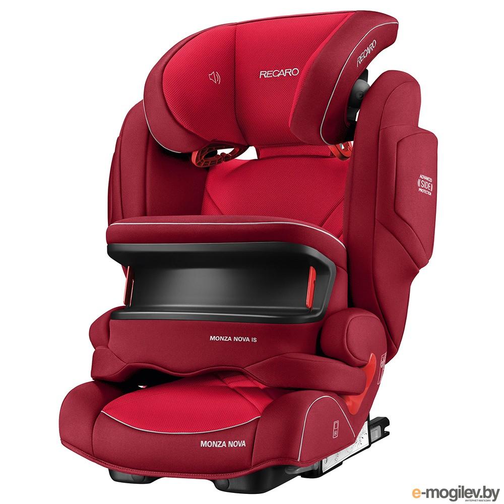 Recaro Monza Nova is Seatfix Indy Red 6148.21505.66