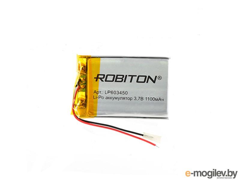 Robiton 3.7V 1100mAh PK1 LP1100-603450 14692 LP603450