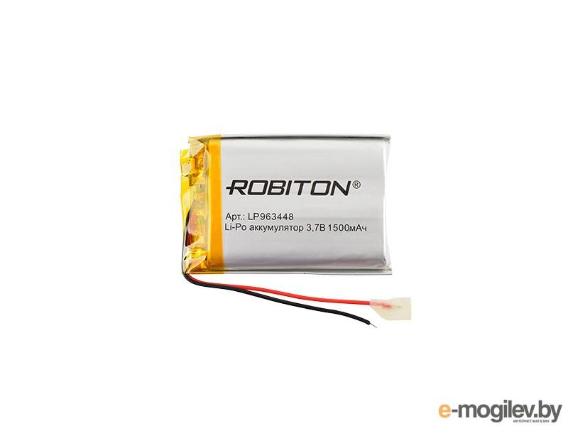 Robiton 3.7V 1500mAh PK1 LP1500-963448 14693 LP963448