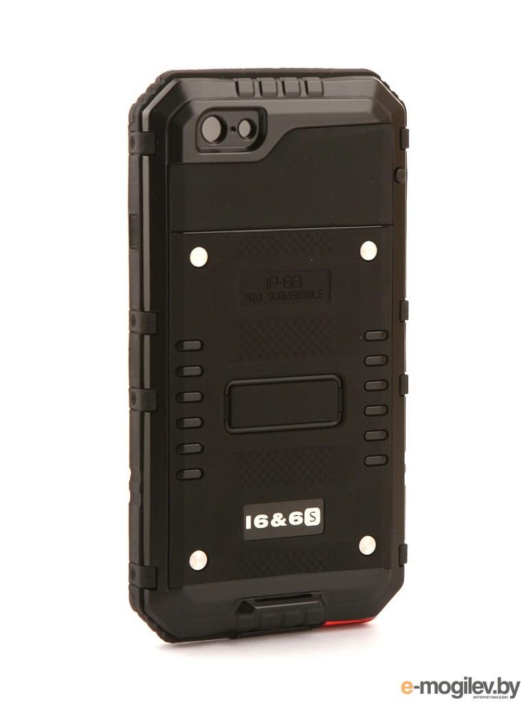 для APPLE iPhone Чехол Luphie для iPhone 6 / 6S Wolf Warrior Back PX/LUPH-IPH6-WW bk