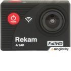 Экшн камера Rekam FULL HD A140 1xCMOS 12Mpix черный