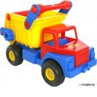 Детская игрушка Полесье Самосвал №1 с резиновыми колесами / 37916