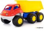 Детская игрушка Полесье Самосвал с прицепом Дакар / 46116 в пакете