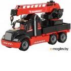 Кран игрушечный Полесье Mammoet с поворотной платформой / 56771