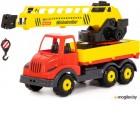 Кран игрушечный Полесье Кран с поворотной платформой Муромец / 56535