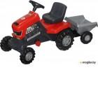 Каталка детская Полесье Turbo трактор с педалями и полуприцепом 52681