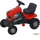 Каталка детская Полесье Turbo Трактор с педалями 52674