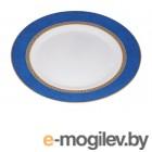 Тарелка обеденная стеклокерамическая, 275 мм, круглая, AMEERAH BLUE (Амира блю), DIVA LA OPALA (Sovrana Collection)