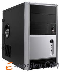 In-Win EMR006T2 350W mATX Black/Silver