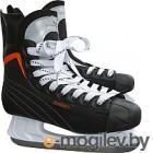 Коньки хоккейные Sundays PW-206G 42, черный/оранжевый