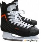 Коньки хоккейные Sundays PW-206G (35, черный/оранжевый)