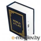 Эврика Сейф-книга Атлас Мира 98287