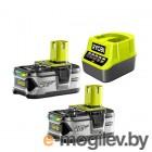 Аккумулятор с зарядным устройством Ryobi RC18120-250 ONE+ 5133003364 (18В/5.0 а*ч + 18В)