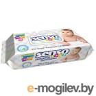 Влажные салфетки Senso Baby С клапаном (120шт)