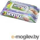 Влажные салфетки Senso Baby С клапаном (72шт)