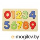 Деревянные игрушки Mapacha Вкладыши Изучаем цифры 76686
