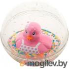 Игрушка для ванны Fisher-Price Веселая уточка / DVH21/DRD82