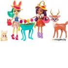Набор кукол Mattel Enchantimals с питомцами / FDG01