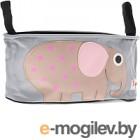 Сумка-органайзер для коляски 3 Sprouts Розовый слоник 21899