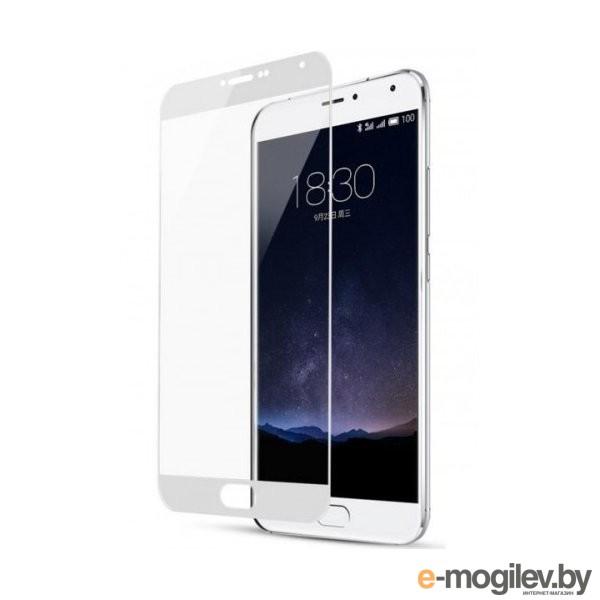 для Meizu Закаленное стекло Meizu M6 Note DF Fullscreen mzColor-17 White