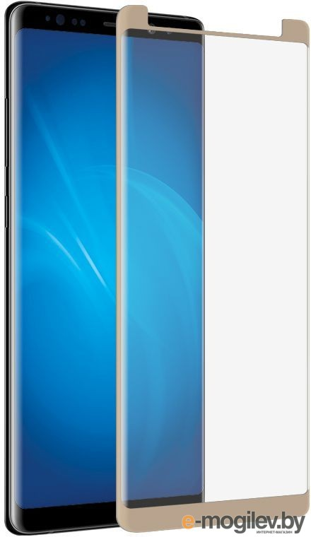 для Samsung Закаленное стекло Samsung Galaxy Note 8 DF Fullscreen 3D sColor-26 Gold