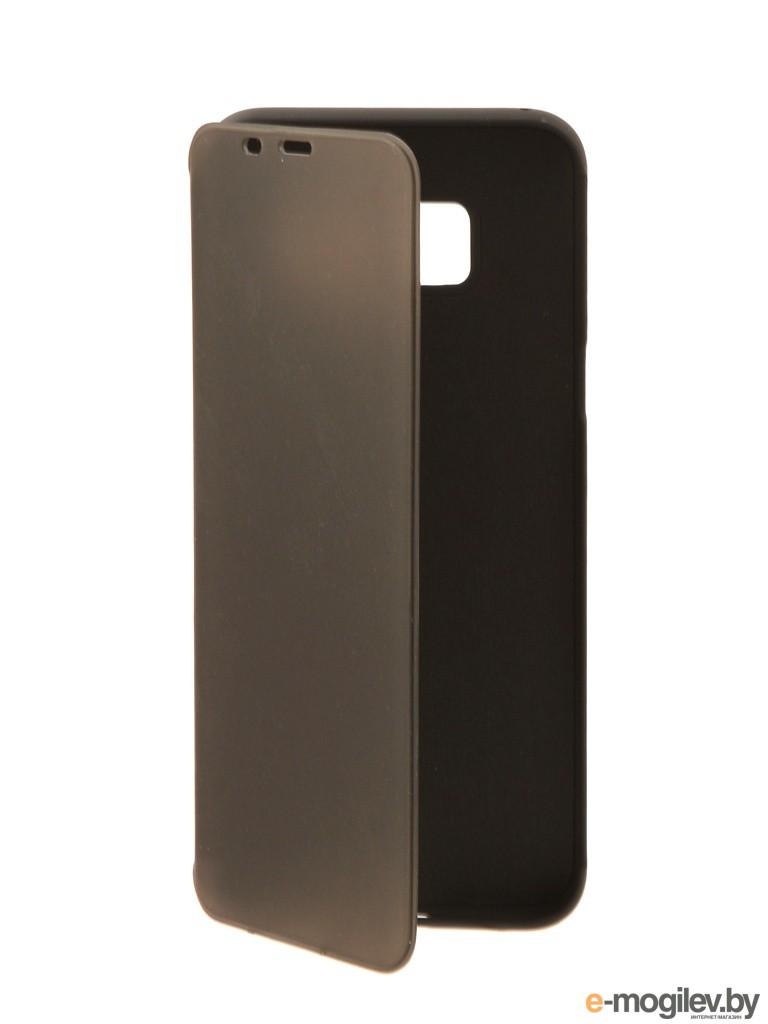 для Samsung Чехол Samsung Galaxy S8 Plus Ainy матовый боковой Black
