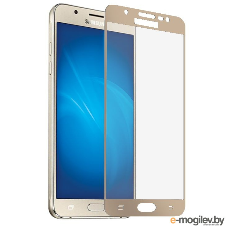для Samsung Защитное стекло Samsung Galaxy J3 2017 Ainy Full Screen Cover 0.33mm Gold
