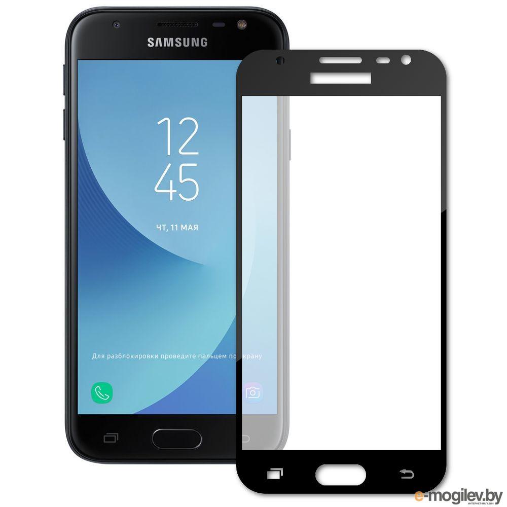 для Samsung Защитное стекло Samsung Galaxy J3 2017 Ainy Full Screen Cover 0.33mm Black