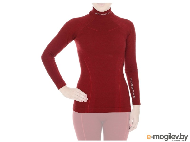 Brubeck Wool Merino M Bordo LS10500 / LS11930