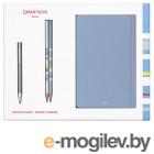 Набор Carandache Ecridor (CC0890.017) ручка шариковая в компл.:2 чернографитных карандаша/2 записные книжки