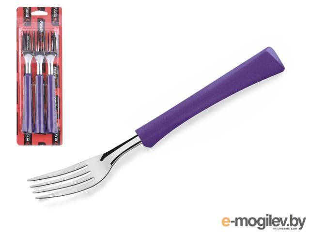 Набор вилок столовых, 3шт., серия INOVA D+, фиолетовые, DI SOLLE