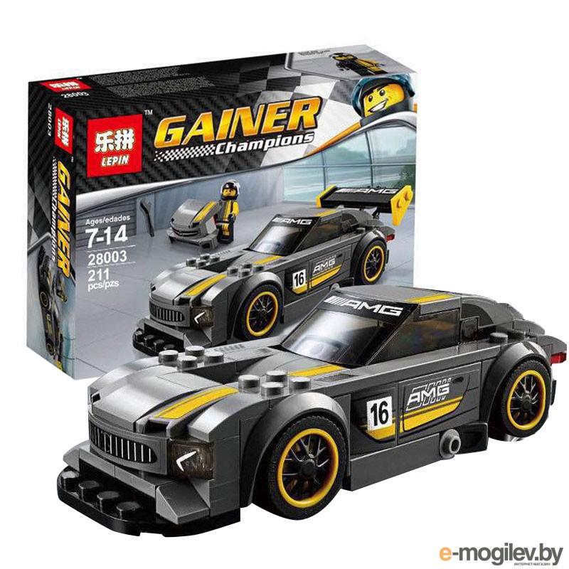 Конструкторы Lepin Gainer Champions Mercedes-AMG GT3 211 дет. 28003