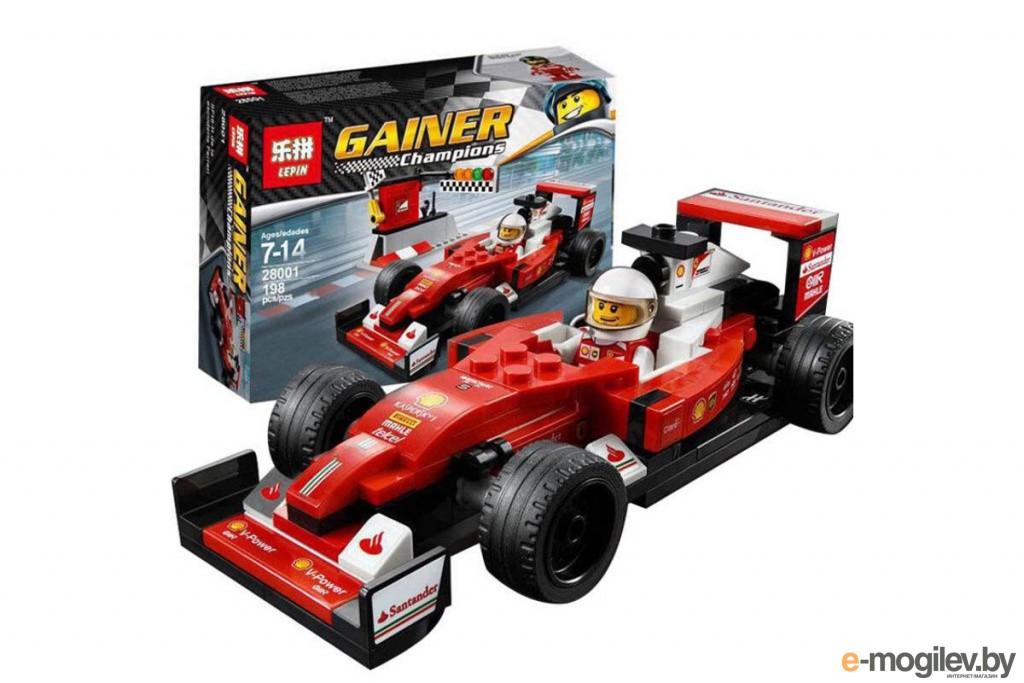 Конструкторы Lepin Scuderia Ferrari SF16-H 198 дет. 28001