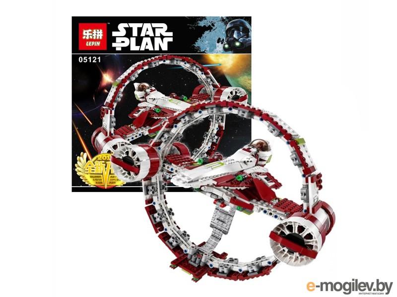 Конструкторы Lepin Star Wars Звздный истребитель джедаев с гипердвигателем 845 дет. 05121