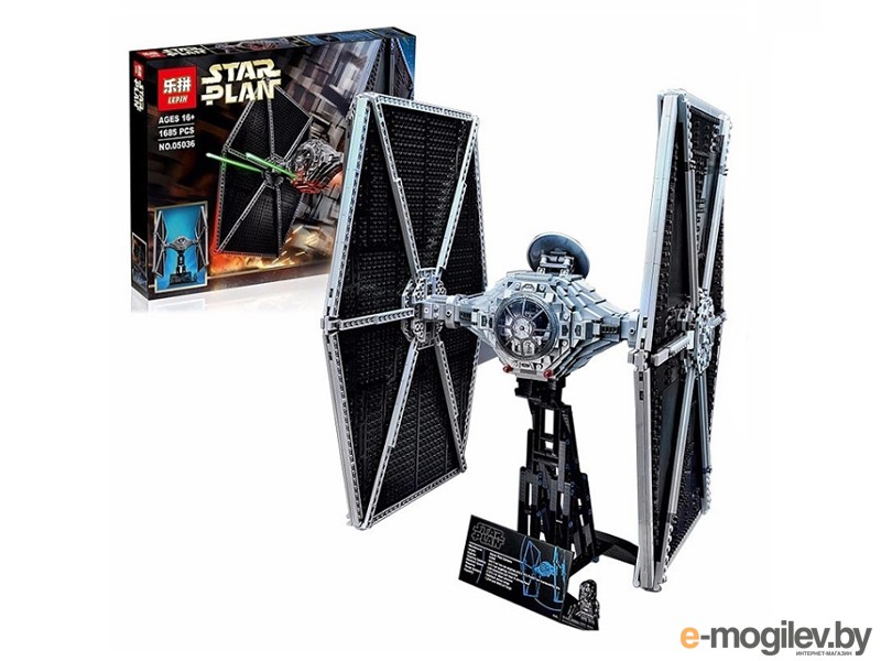 Конструкторы Lepin Star Wars Истребитель TIE Fighter 1685шт дет. 05036