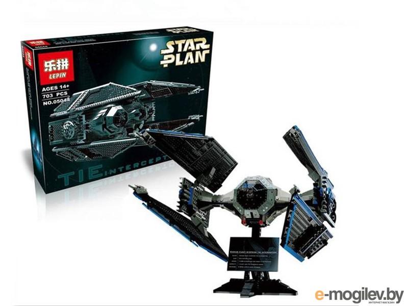 Конструкторы Lepin Star Wars Истребитель TIE Interceptor 703 дет. 05044