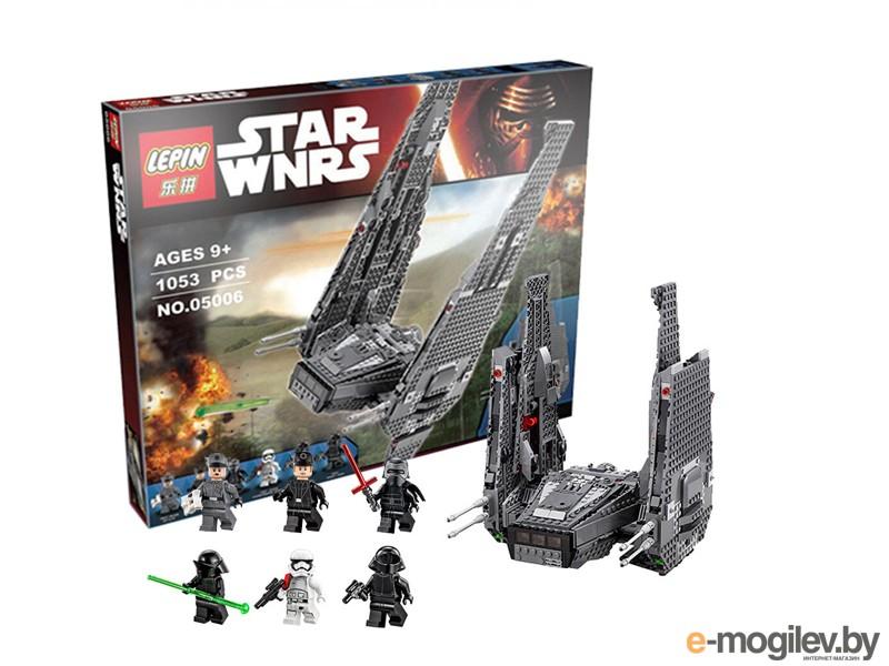 Конструкторы Lepin Star Wars Командный шаттл Кайло Рена 1053 дет. 05006
