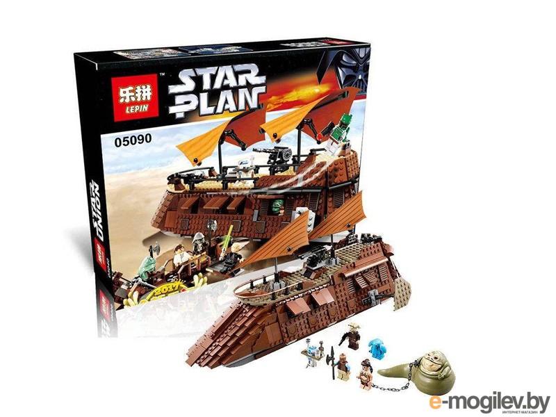 Конструкторы Lepin Star Wars Пустынный корабль Джаббы 821 дет. 05090
