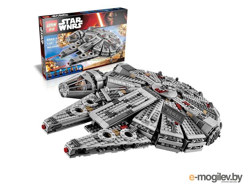Конструкторы Lepin Star Wars Сокол Тысячелетия 1355 дет. 05007