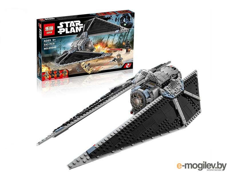 Конструкторы Lepin Star Wars Ударный истребитель СИД TIE Striker 543 дет. 05048