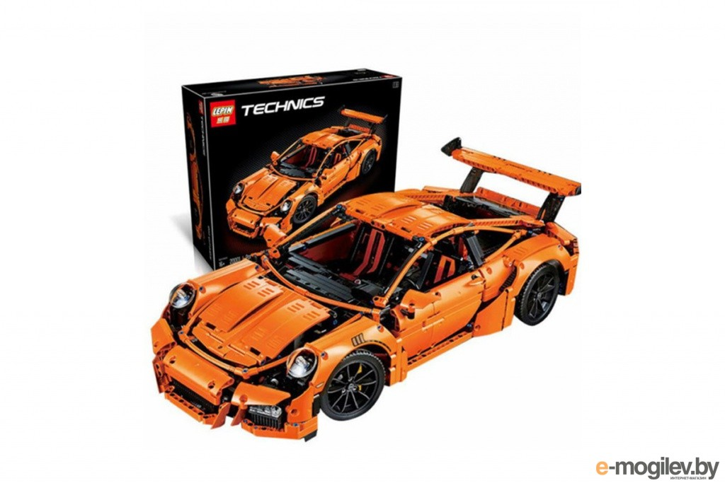 Конструкторы Lepin Techini Porsche 911 GT3 RS 2704 дет. 20001